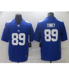 Men's New York Giants #89 Kadarius Toney Blue Nike Limited Jersey