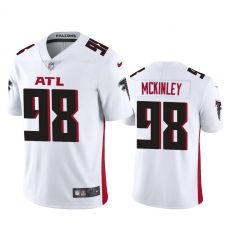 Nike Atlanta Falcons #98 Takkarist Mckinley Men's White 2020 Vapor Untouchable Limited NFL Jersey