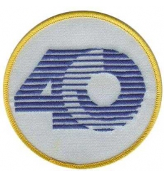 Stitched St.Louis Rams 40th Anniversary Jersey Patch