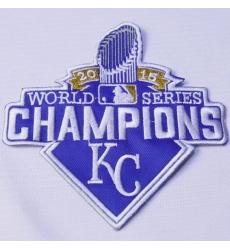 Stitched 2015 Kansas City Royals World Series Champions Jersey Patch