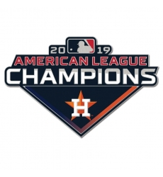 2019 World Series American League Champions MLB Collector Pin Houston Astros