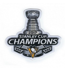 Stitched 2017 NHL Stanley Cup Finals Champions Pittsburgh Penguins Jersey Patch