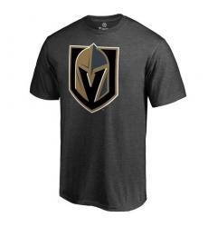 NHL Men's Vegas Golden Knights Dark Grey Primary Logo T-Shirt