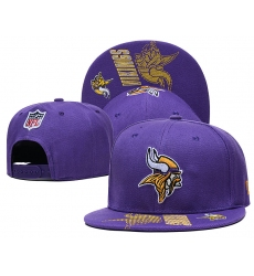 NFL Minnesota Vikings Hats 005