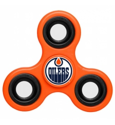 NHL Edmonton Oilers 3 Way Fidget Spinner E115 - Orange