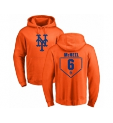 Baseball New York Mets #7 Marcus Stroman Ash Backer Pullover Hoodie
