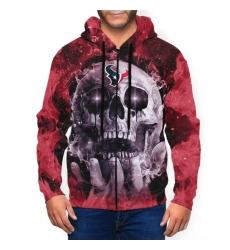 Texans Men's Zip Hooded Sweatshirt