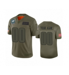 Youth Philadelphia Eagles Customized Camo 2019 Salute to Service Limited Jersey