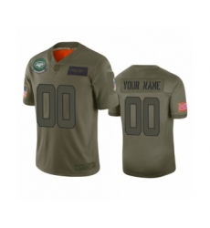 Youth New York Jets Customized Camo 2019 Salute to Service Limited Jersey