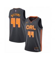 Men's Orlando Magic #44 Jason Williams Swingman Charcoal Basketball Jersey - 2019 20 City Edition