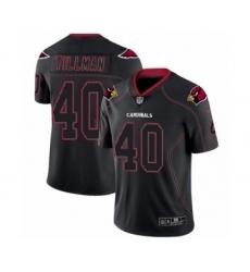 Men's Nike Arizona Cardinals #40 Pat Tillman Limited Lights Out Black Rush NFL Jersey