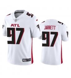 Nike Atlanta Falcons #97 Grady Jarrett Men's White 2020 Vapor Untouchable Limited NFL Jersey
