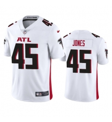 Nike Atlanta Falcons #45 Deion Jones Men's White 2020 Vapor Untouchable Limited NFL Jersey